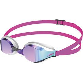 speedo Fastskin Speedsocket 2 Mirror Goggles Pink/Blue